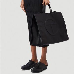 👜 Telfar LARGE Shopping Bag - Black 👜